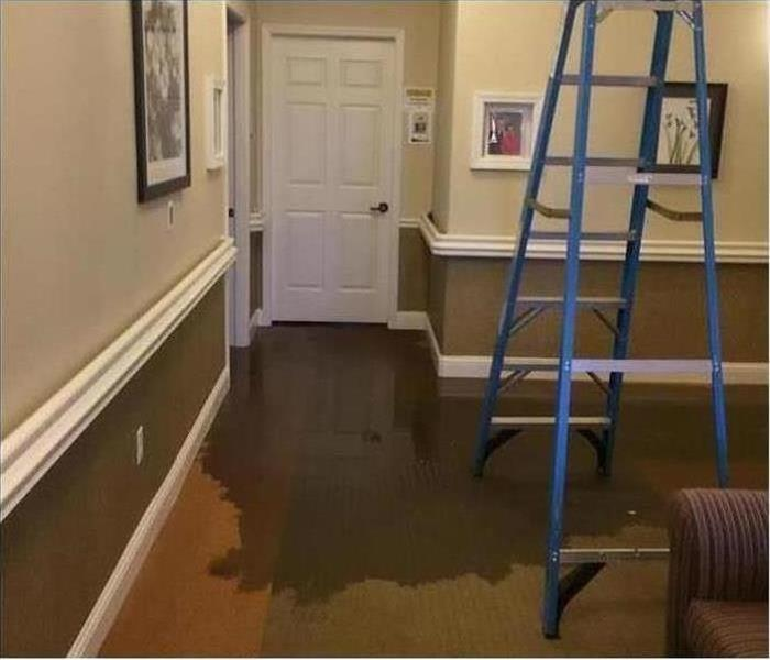 Water Damage – Casa Grande Office Before