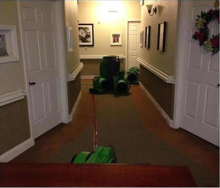 Water Damage – Casa Grande Office After