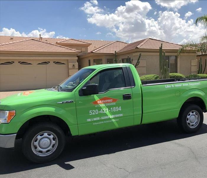 Maricopa Hot House--Call SERVPRO for Relief