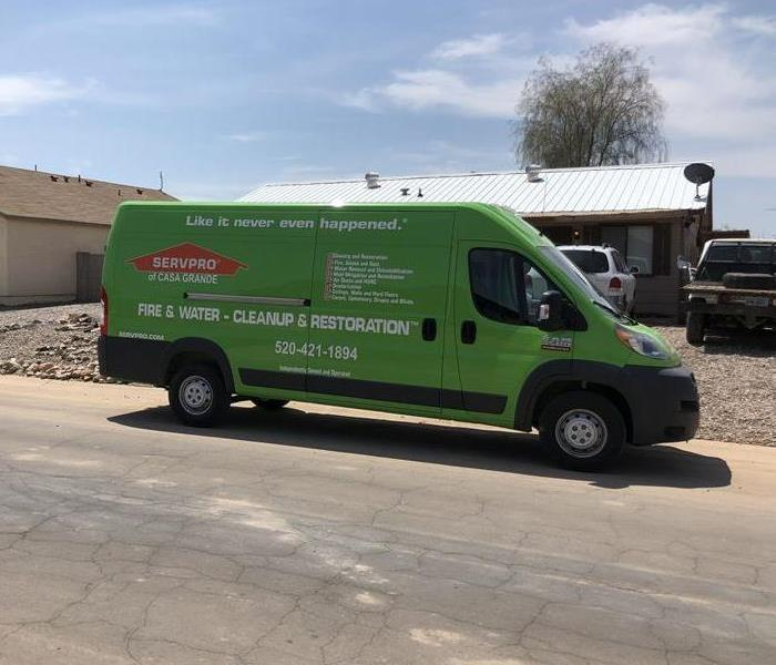 Commercial SERVPRO Will Remove Water Damage From Your Casa Grande Bakery