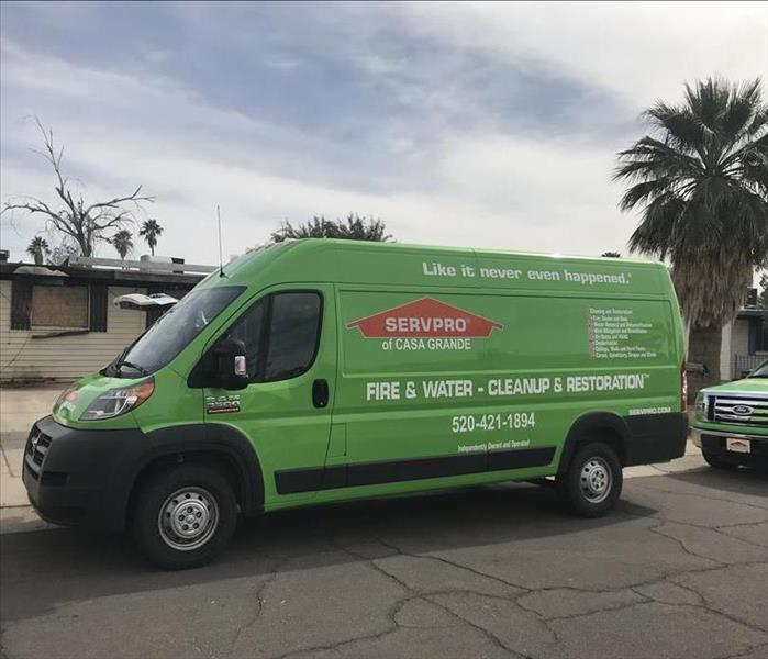 Why SERVPRO Prevent Further Spread Of Fire Damage In Your Arizona City Home